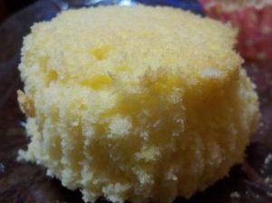 バターチーズスポンジケーキ