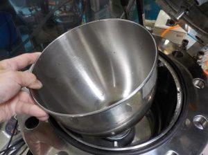 取り外せる攪拌槽