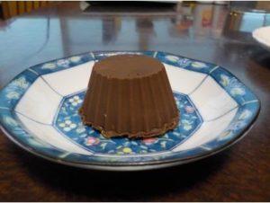 柔らかいチョコをチョコレートで包んでみました